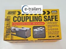 Heavy Duty Caravan Hitch Coupling Security Box Lock Safe Cover Tow Towing MP089